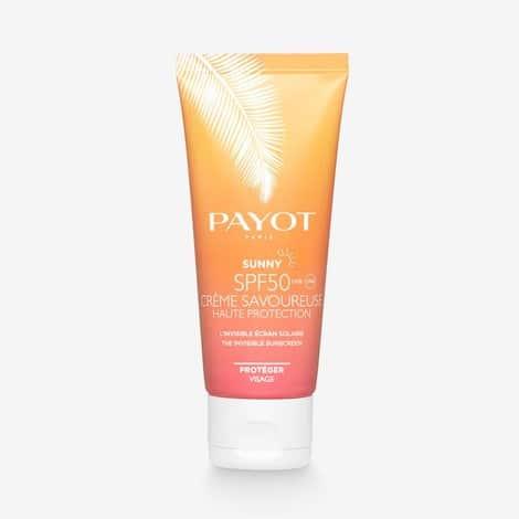 Infinite Skincare _ Payot Sunny Creme Savoureuse SPF50 (Visage)